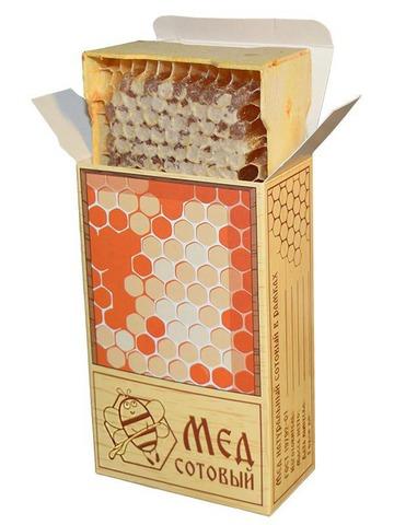 Упаковка для сотового меда от производителя