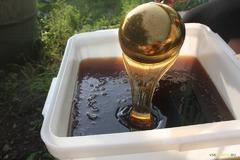 Натуральный мёд Алтая, крем-мёд