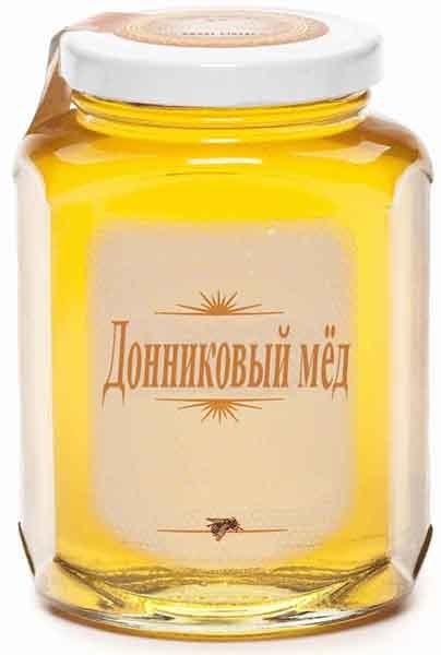 Цвет мёда из донника